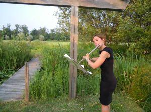 Chiara Daneo al flauto